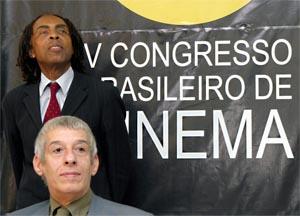 Orlando Senna e Gilberto Gil