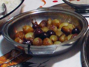 Cebolinhas caramelizadas