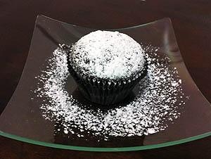 Cupcakes de beterraba com chocolate