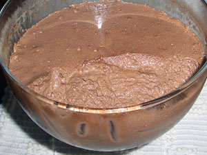Mousse de chocolate da Zezé