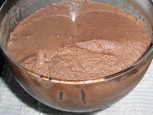 Mousse de chocolate da Zezé