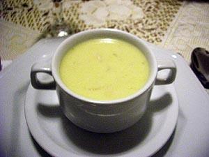 Sopa creme de palmito a moda antiga